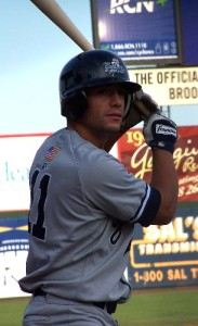 Krum made his professional debut with the Staten Island Yankees back in 2007